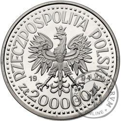 200 000 złotych - Zygmunt I Stary - półpostać