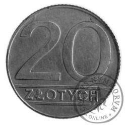 20 złotych - mosiądz