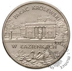 2 złote - Pałac Królewski w Łazienkach