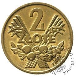 2 złote - kłosy