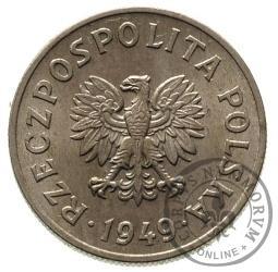 50 groszy - miedzionikiel
