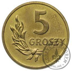 5 groszy - mosiądz