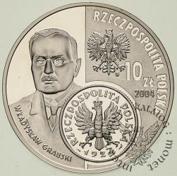10 złotych - Dzieje złotego (W. Grabski) 1 złoty z 1924 r.