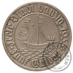 5 guldenów - koga