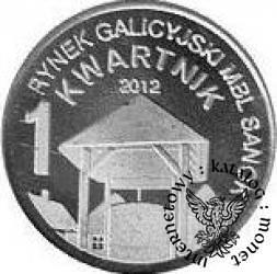 1 kwartnik skansenowski 2012 (IV emisja / wzór I - Al)
