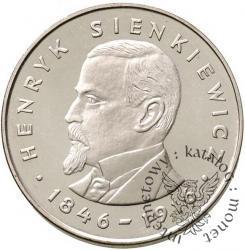 100 złotych - Henryk Sienkiewicz