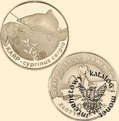 1000 złotych rybek (Au.900) - IV emisja / KARP