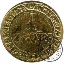 1 złoty - X LAT POWIATU PIOTRKOWSKIEGO (M)