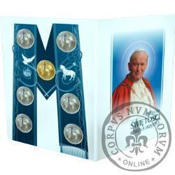 Droga do Świętości Karola Wojtyły (zestaw numizmatów)