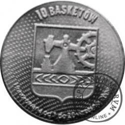 10 basketów (alpaka 2) - Katowice (ME w Koszykówce Mężczyzn)