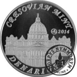 10 denarów - DENARIUS X (alpaka - wersja eksportowa) / Jan XXIII