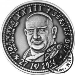 10 denarów - DENARIUS X (alpaka oksydowana - wersja krajowa) / Jan XXIII