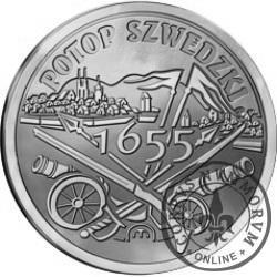 100 szelągów - 360. Rocznica Potopu Szwedzkiego (alpaka)