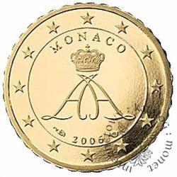 10 euro centów - stempel lustrzany