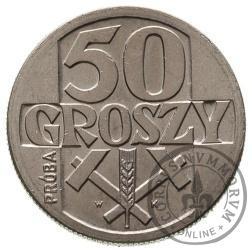 50 groszy - młoty aluminium