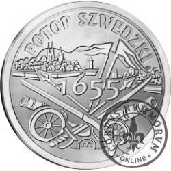 100 szelągów - 360. Rocznica Potopu Szwedzkiego (Ag)