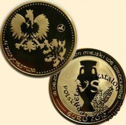 Euro 2012 - Mecze Polskiej Reprezentacji / POLSKA - CZECHY (mosiądz)