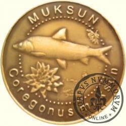 10 złotych rybek (mosiądz patynowany) - LVI emisja / MUKSUN
