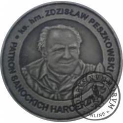 1 talar - Sanok / ks. hm. Zdzisław Peszkowski (mosiądz oksydowany)