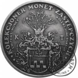 5 KOWALI / Tadeusz Kowalczyk (mosiądz srebrzony oksydowany)
