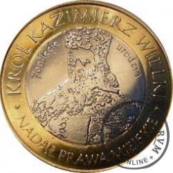 10 dutków nowotarskich - Król Kazimierz III Wielki (II edycja - bimetal z tampondrukiem)