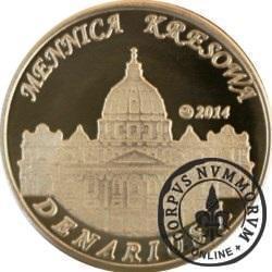 10 denarów - DENARIUS X (mosiądz + tampondruk - wersja krajowa) / Jan XXIII
