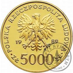 5000 złotych - Jan Paweł II