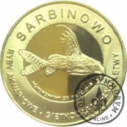 10 złotych rybek - Pomorze Zachodnie / Sarbinowo ~ Giętkoząb wielkopłetwy (IX emisja - mosiądz)