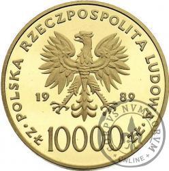 10 000 złotych - Jan Paweł II - st.l.