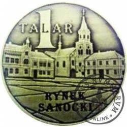 1 talar - Sanok / ks. hm. Zdzisław Peszkowski (mosiądz)