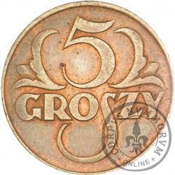 5 groszy - brąz WJ