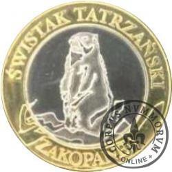 10 dutków zakopiańskich - ŚWISTAK TATRZAŃSKI (II emisja)