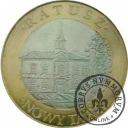 10 dutków nowotarskich - Ratusz w Nowym Targu (II edycja - bimetal z tampondrukiem)