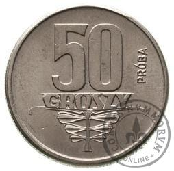50 groszy - motylki aluminium