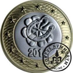 moneta kominiarska - Przynoszę zdrowie, szczęście i bezpieczeńswo