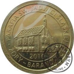 5 baronków / Żory - Baranowice (mosiądz)