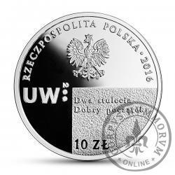 10 złotych - Uniwersytet Warszawski