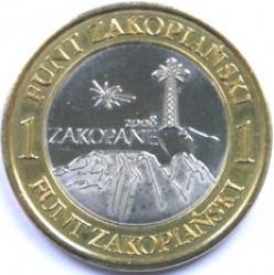 1 funt zakopiański - Giewont