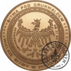 1000 bitewnych / Grunwald (złoto Au.585)