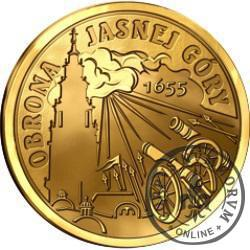 1000 szelągów - Potop Szwedzki / Obrona Jasnej Góry (golden nordic)