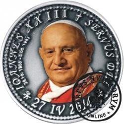 10 denarów - DENARIUS X (alpaka oksydowana + tampondruk - wersja eksportowa) / Jan XXIII