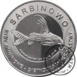 10 złotych rybek - Pomorze Zachodnie / Sarbinowo ~ Giętkoząb wielkopłetwy (IX emisja - alpaka oksydowana)