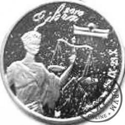 WAGA - Mahatma Gandhi (mosiądz posrebrzany)