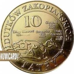 10 dutków zakopiańskich - WILK SZARY (III emisja - bimetal pozłacany)