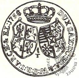 dwuzłotówka (1/3 talara) - bez oznaczeń mincerskich