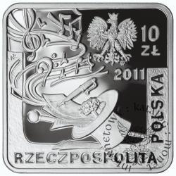 10 złotych - Jeremi Przybora, Jerzy Wasowski - kwadrat