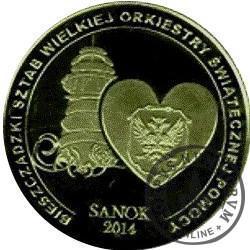 1 talar sanocki / WOŚP 2014 (emisja VIII - mosiądz oksydowany)