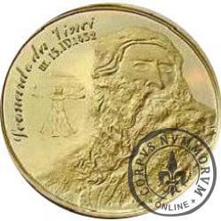 BARAN - Leonardo da Vinci (mosiądz)