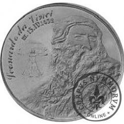 BARAN - Leonardo da Vinci (srebro Ag.925 oksydowane)