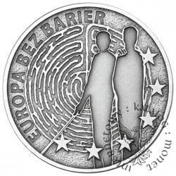 10 złotych - Europa bez barier - 100-lecie Towarzystwa Opieki nad Ociemniałymi